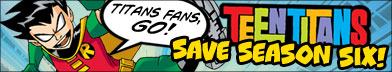 keep TEEN TITANS 6th season!